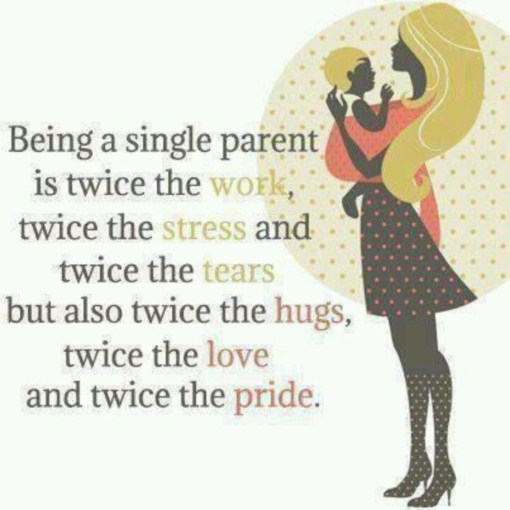 Being a single parent