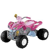 "Power Wheels Fisher-Price Kawasaki KFX Quad Ride On - Barbie - Power Wheels - Toys ""R"" Us"