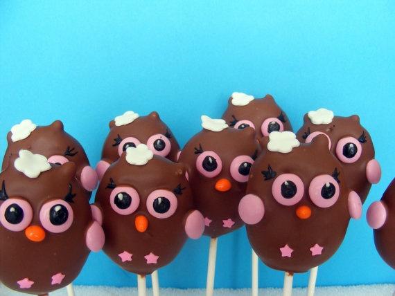 cheyenne wants owl cake pops for her birthday :)