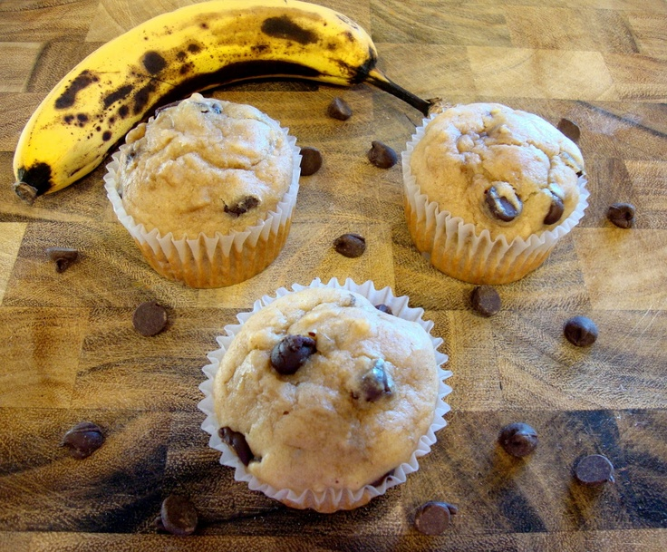 ... Culinary Indulgence: Banana & Peanut Butter Chocolate Chip Muffins
