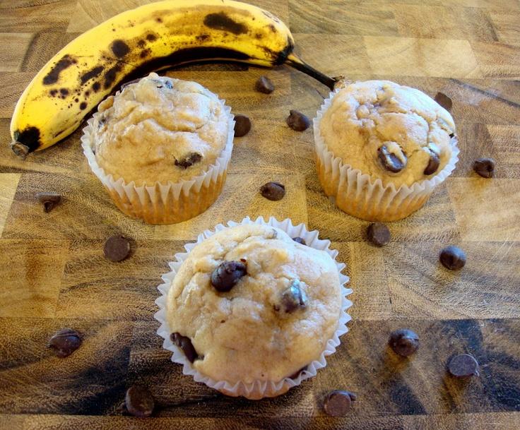 ... Culinary Indulgence: Banana & Peanut Butter Chocolate Chip Muffins