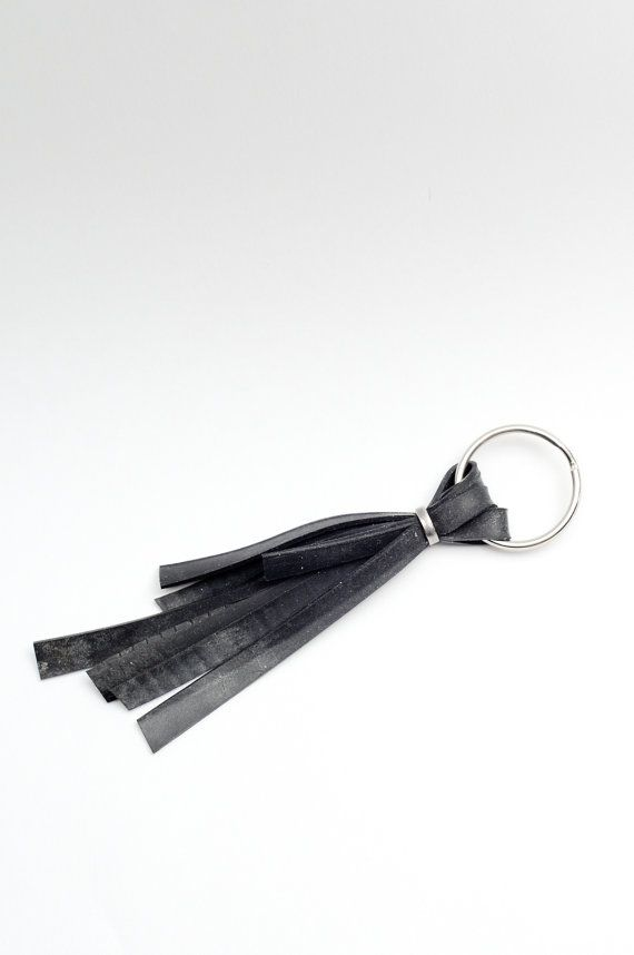 Inner Tube Keyring by BicycleRecycled on Etsy, $5.00