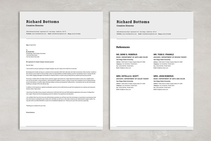 Transitional Two Pages Resume Pack u2022 Available here → https - pages resume templates