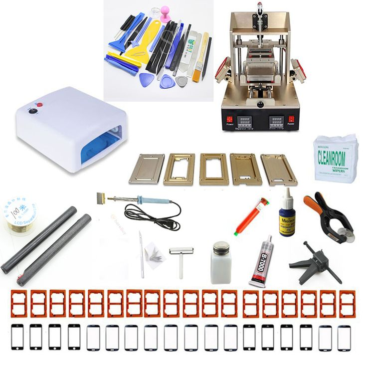 ==> [Free Shipping] Buy Best 5in1 LCD Repair Machine Frame Laminator Vacuum Screen Separator Glue Remover Mould Glass For Samsung Middle Bezel Splite iPhone Online with LOWEST Price | 32582430013