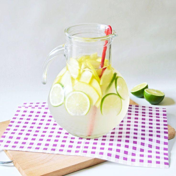 DIY: Limetkové Bowle a jablkom | VLADIES