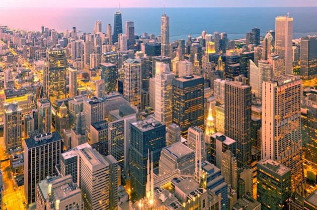 Chicago  Rank: 28  Population: 2,679,998  The Windy City, America's third-largest metropolis, would rank much higher if it were evaluated purely on its strong universities and thriving entertainment. Chicago is as hot as any city, thanks to its fine dining in such neighborhoods as Lincoln Park, nightlife in its more than 800 bars, and strong acting chops honed at such places as Second City and the Steppenwolf Theatre Co.