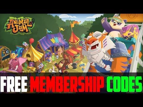 "How To Get Free Animal Jam Membership Codes ""2015"""