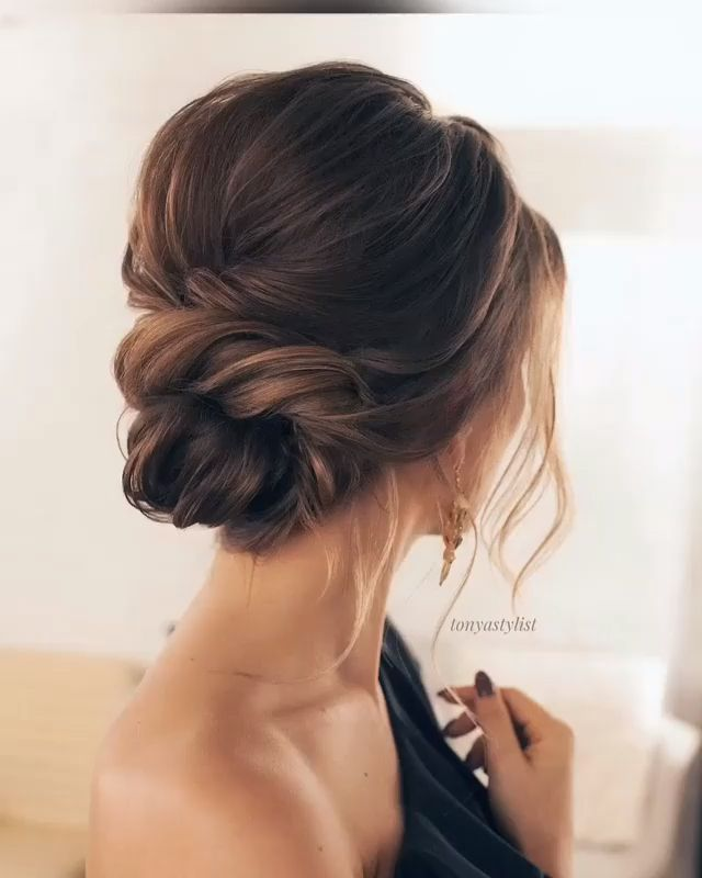 Tonyastylist Long Wedding Hairstyles and Wedding Updos Ideas - diy wedding updo hairstyle tutorial