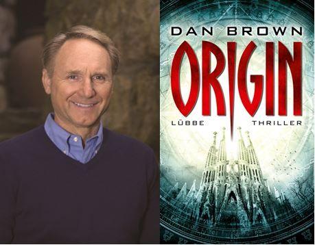 US-Bestsellerautor Dan Brown stellt live auf der Frankfurter Buchmesse sein neues Buch Origin vor.