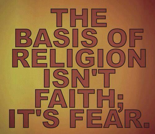 Your religion plays on your fear of Ferg and your fear of the unknown.  It pits you against people who don't believe the same fairy story that you do.  There is nothing that religion adds to the world that is good, and plenty of hate and division that it adds which would not exist without religion.