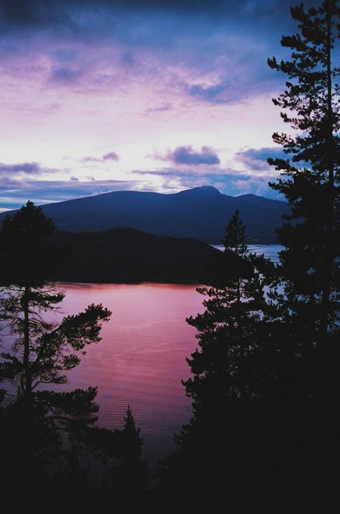 a pink sunrise :)