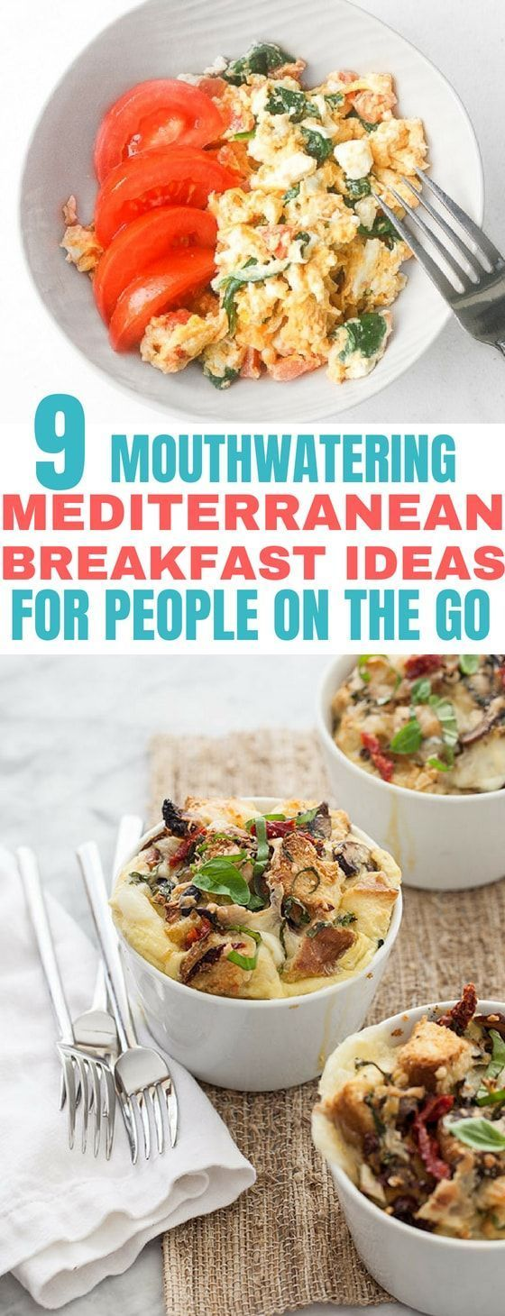 9 Mediterranean Diet Breakfast Recipes: Make-ahead Friendly