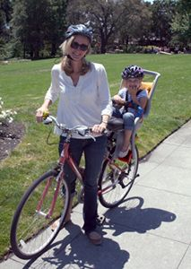 Lucie's List:  Bike Seats for Infants and Toddlers