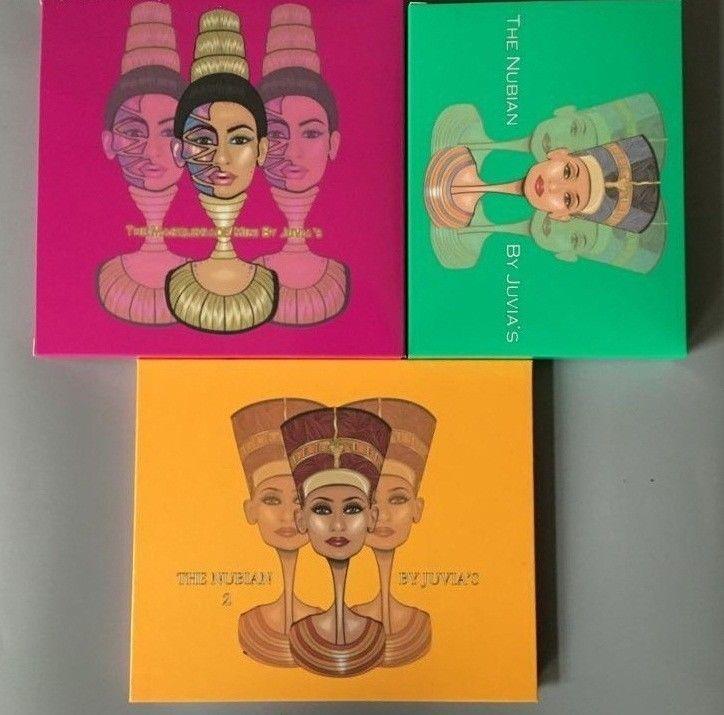 New Egyptian Royal Queen Magic Zulu Beads Matte High Pigment Eyeshadow Palette #Unbranded
