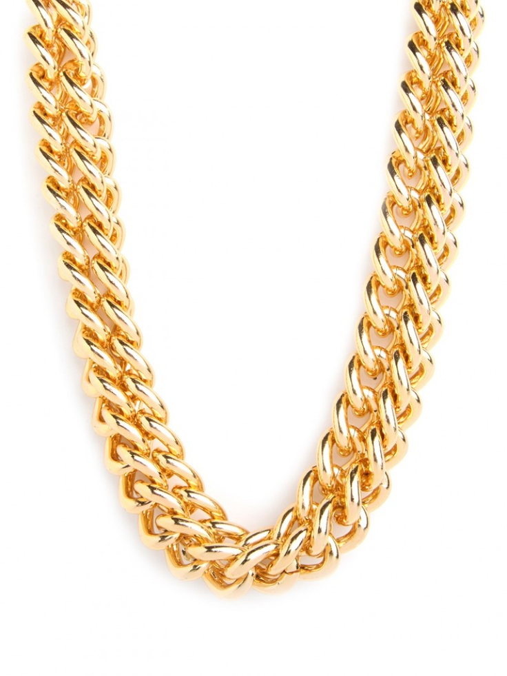 Our Double Gold Collar.  An office favorite... because two strands are better than one!: Double Chains, Nina Garcia, Statement Necklaces, Style, Double Gold, Collars Necklaces, Chains Necklaces, Gold Collars, Accessories