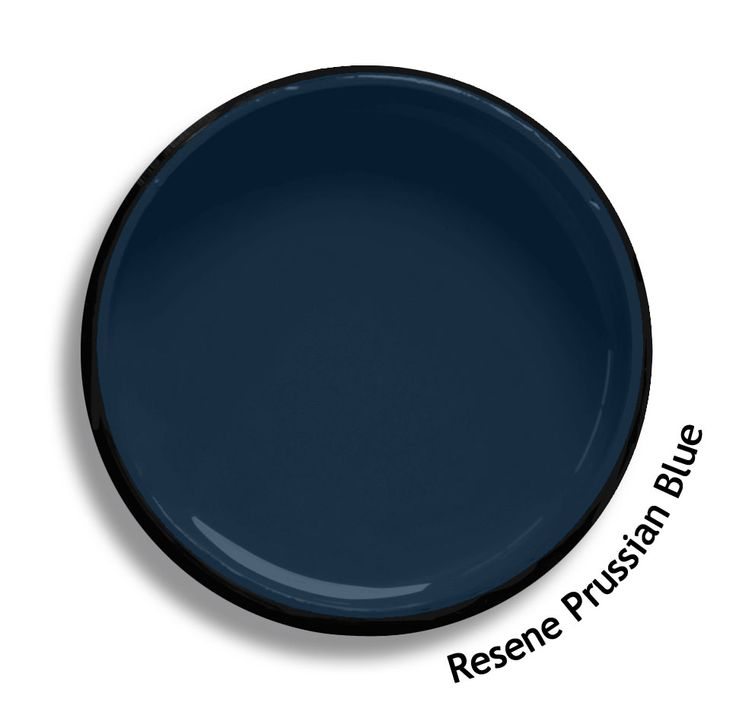 Resene Prussian Blue is a deep blue pigment, Germanic in origin. From the Resene Multifinish colour collection. Try a Resene testpot or view a physical sample at your Resene ColorShop or Reseller before making your final colour choice. www.resene.co.nz