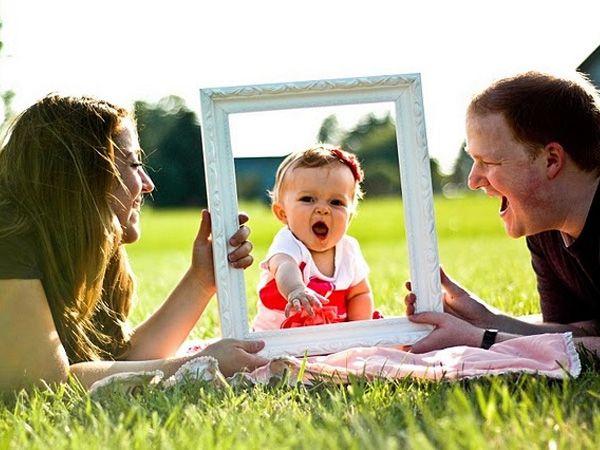 Familieportret met lijst