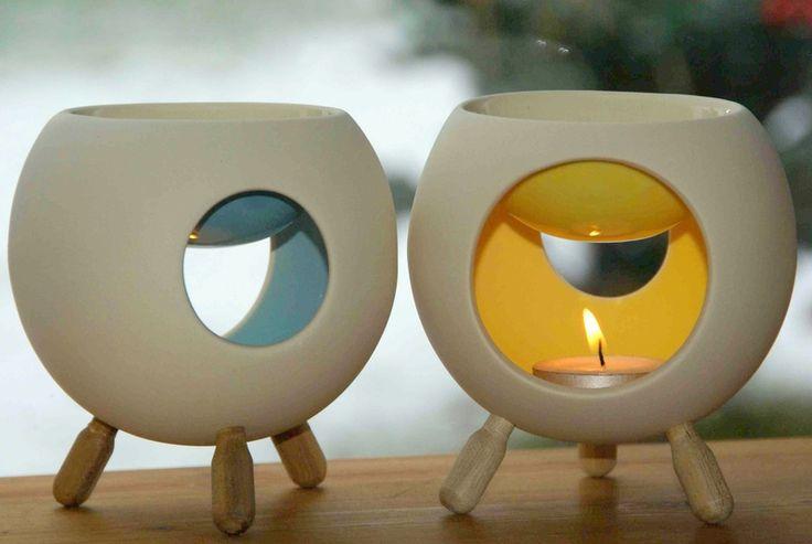 """Duftlampe, Aromalampe """"Koni Duft"""" von green.orange von green.orange ForYou auf DaWanda.com"""