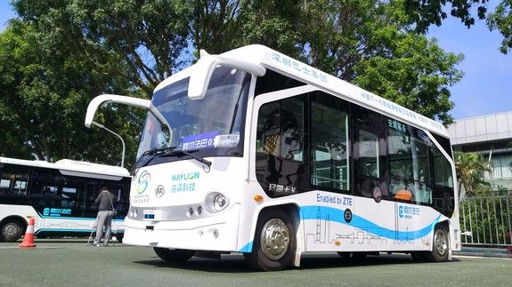 Self-driving buses are being tested in China and theyre the largest of their kind yet