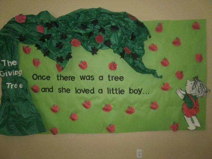 Classroom Giving Tree Ideas ~ Best tree bulletin boards ideas on pinterest school