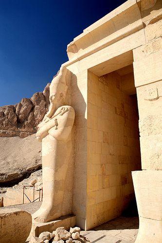 Hatshepsut Temple by Shawn Clover. Deir El-Bahari, Egypt