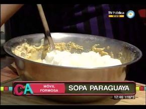 Sopa paraguaya formoseña