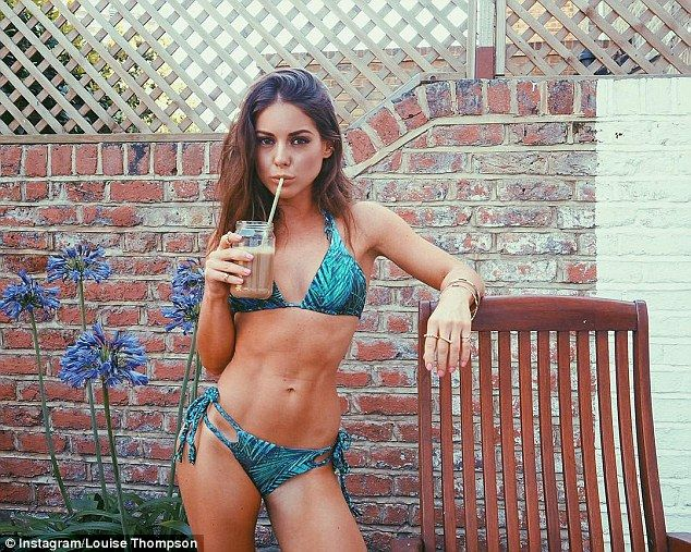 Bikini babe: Louise Thompson celebrated the end of Made In Chelsea's summer…
