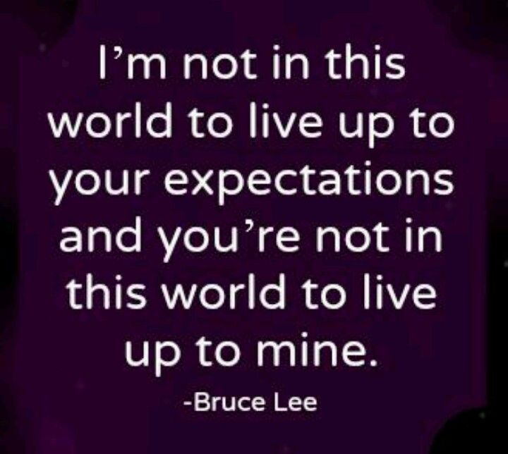 Expectations In A Relationship Quotes: Expectation Quotes And Sayings. QuotesGram