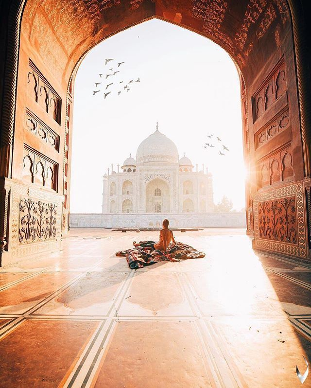 Taj Mahal, Agra, India ♡
