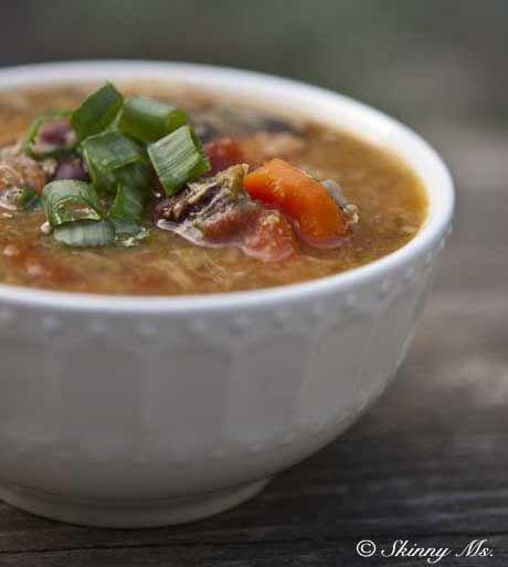 Chicken and Wild Rice Super Food Stew