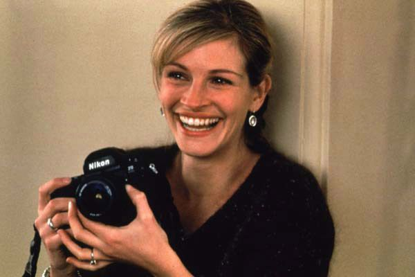 Julia Roberts. You make me smile no matter what role your playing. I always enjoy your films and your contagious smile. I always try to smile no matter what!