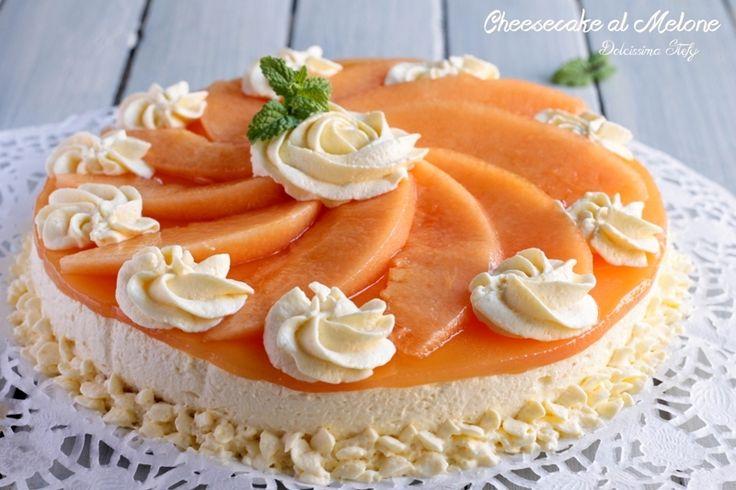 Cheesecake al Melone - Dolcissima Stefy