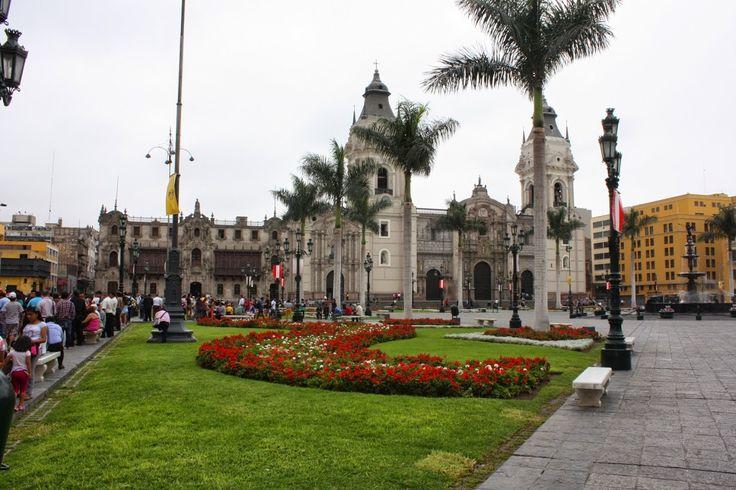 Plaza de Armas - Lima Por Lisanias C.