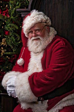 Santa  Christmas gotta love a man who dresses up to bring joy to kids :)