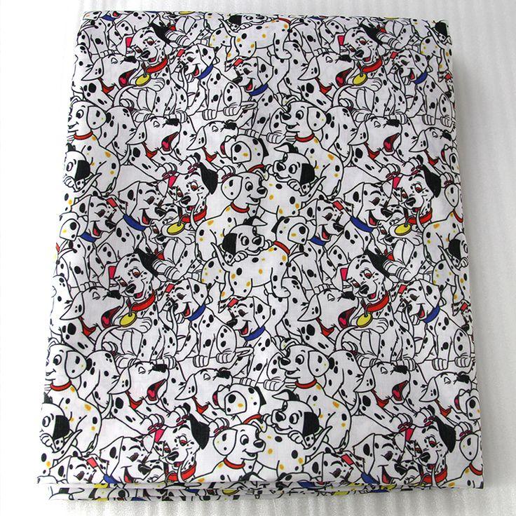 42598 50*147 cm cartoon dalmatiërs stof patchwork gedrukt honden katoen voor tissue kids beddengoed thuis textiel tas ontwerp in Van harte welkom om op maat uw eigen ontwerpen, beste prijs voor moq en lint. Hars. Faric.... Pls contact met ons op voo van stof op AliExpress.com | Alibaba Groep