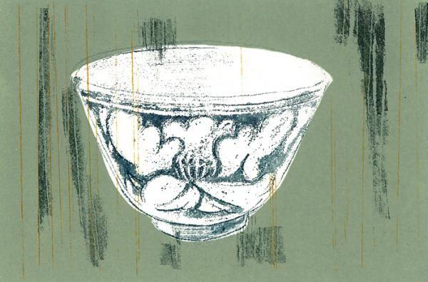 ガリ版アートの第一人者、神﨑智子氏の珍しい版画展を開催