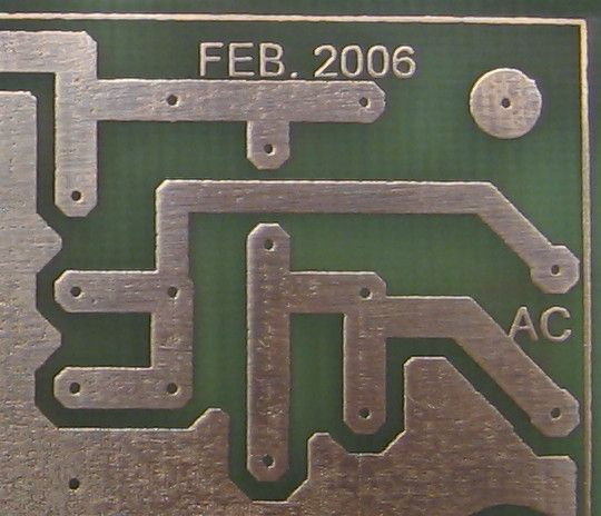 PCB production with iron u. Laser printing …