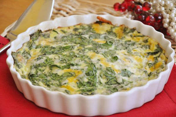 Crustless spinach and onion quiche. I think I may add tomatoes, garlic, mushrooms and maybe even artichoke hearts. Wait, is that too much? Haha