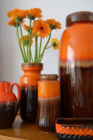 A website full of vases, planters and more.......Vintage/Retro Keramiek.