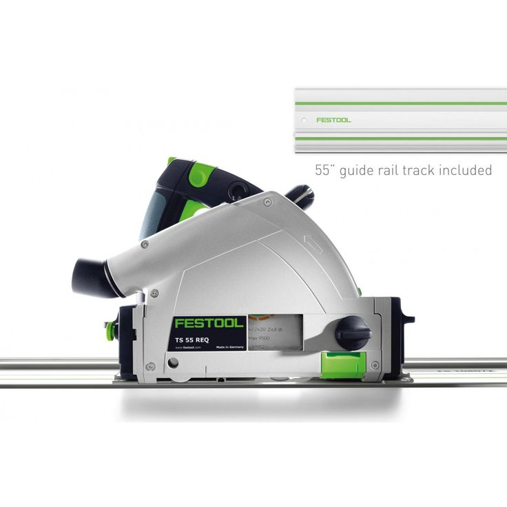 Festool 561556 TS 55 REQ Plunge Cut Track Circular Saw, Metric
