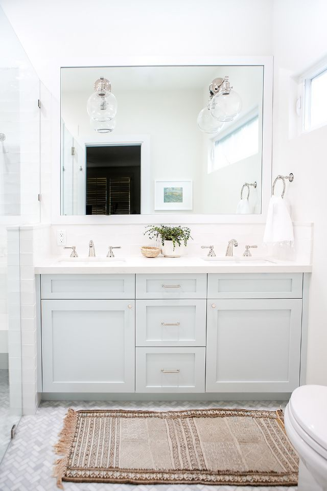 While the kitchen did receive a ton of renovations, Ausland told us she also remodeled the kids' bathroom and the master bath, as well as enlarging it. We love the bright feel of this space and...