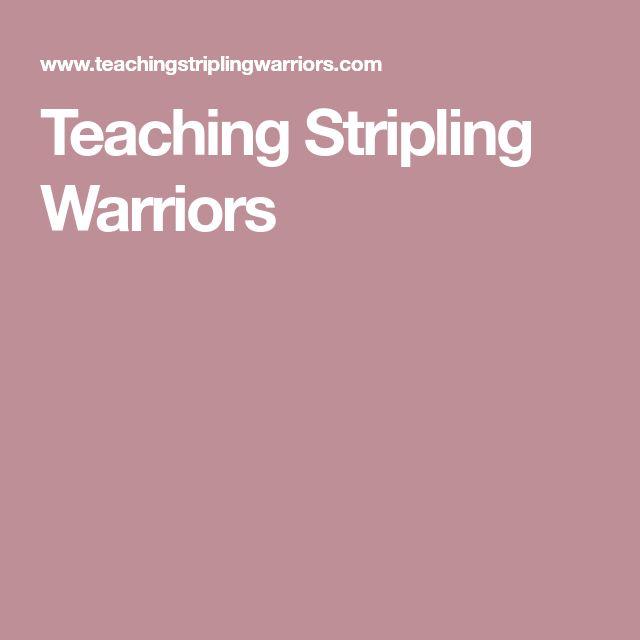 Teaching Stripling Warriors