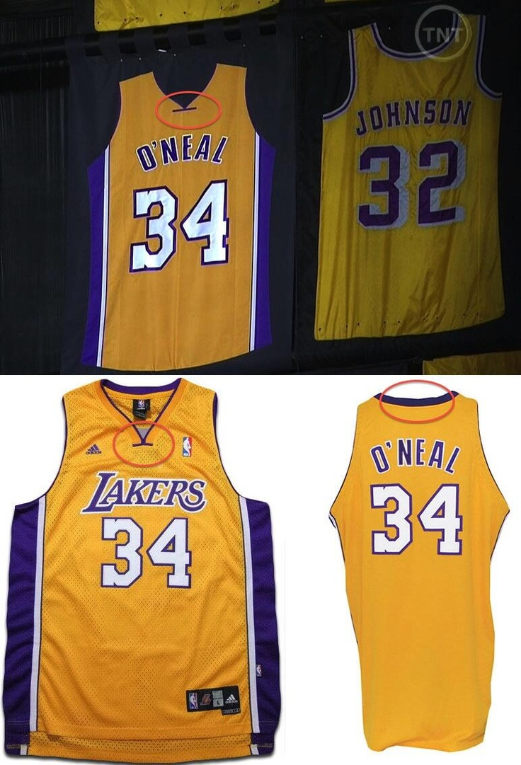 Shaqs retired lakers jersey 34