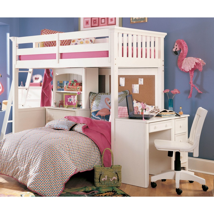 bedroom ideas for girls with bunk beds. possible idea for the girls bunk bed put a queen on bottom bedroom ideas with beds r
