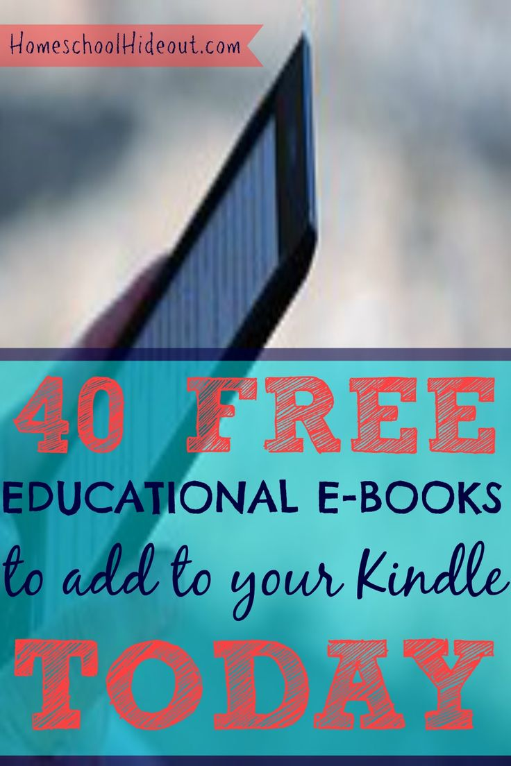 Grab these EDUCATIONAL E-BOOKS before the price changes! These are perfect for any age.