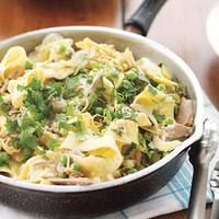 Not Tuna Casserole | http://www.rachaelraymag.com/Recipes/rachael-ray-magazine-recipe-search/rachael-ray-30-minute-meals/not-tuna-casserole