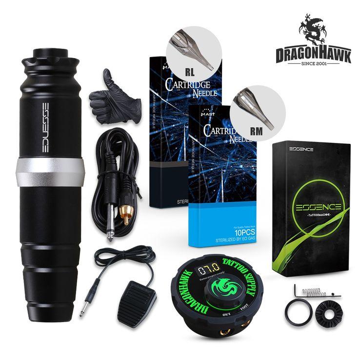 Dragonhawk motor rotary pen tattoo machine tattoo set kit