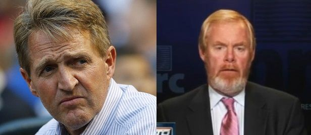 """#NeverTrump Brent Bozell takes on #NeverTrump Jeff Flake. """"On behalf of my late father and my family, I am denouncing Senator Jeff Flake and his new book, dishonestly titled, Conscience of a …"""