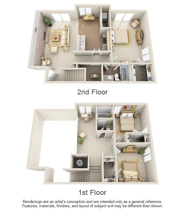 One Two Three Bedroom Apartments In Edmond Ok Edmond Oklahoma Apartment Steadfast Home Design Floor Plans Apartment Layout Apartment Floor Plans