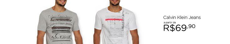 Submarino Top! Calvin Klein Jeans a partir de ((((( R$69,90 )))))